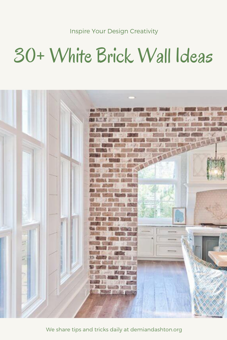30 Inspiring White Brick Wall Ideas For Your Room