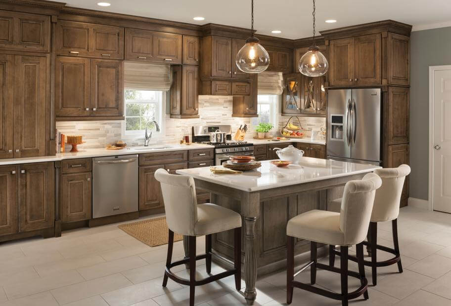 rustic_beech_kitchen_cabinets