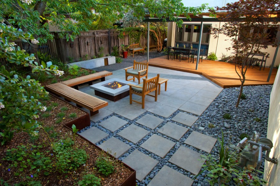 25+ Popular Stone Patio Ideas for Backyard and Front Yard on Backyard Masonry Ideas id=26462