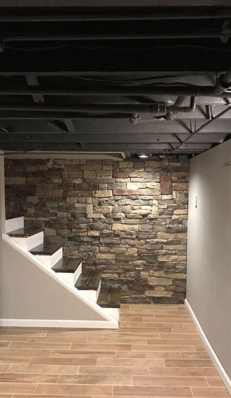 inexpensive_unfinished_basement_ideas