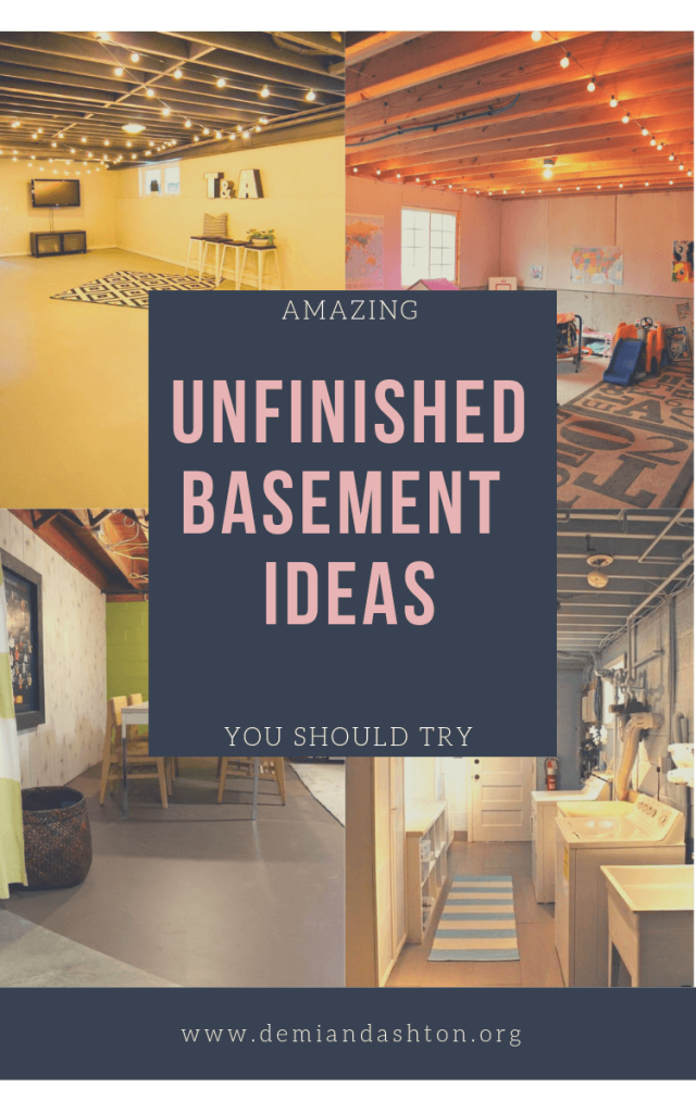 unfinished_basement_ideas