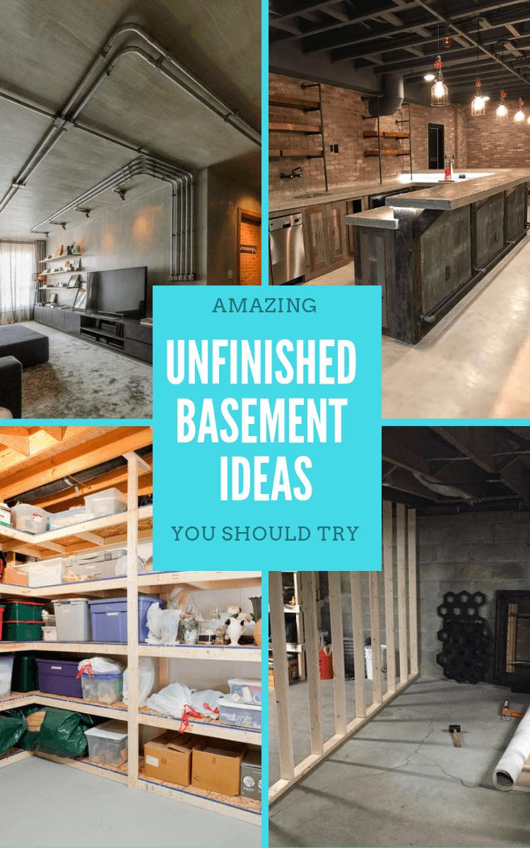 unfinished_basement_ideas_diy
