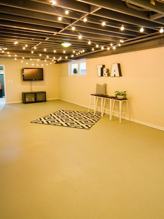 Basement Floor Painting