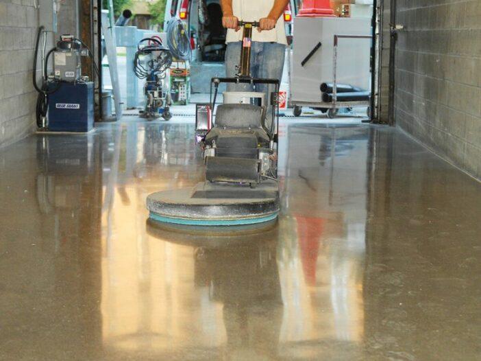 Basement floor paint helps protect the floor
