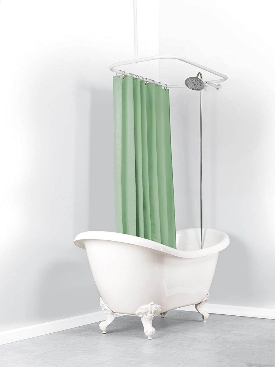 Bathroom Shower Curtain Ideas for Small Bathroom