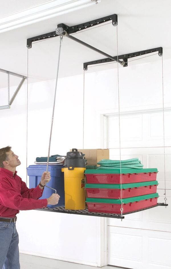 Guide to Installing Overhead Garage Storage