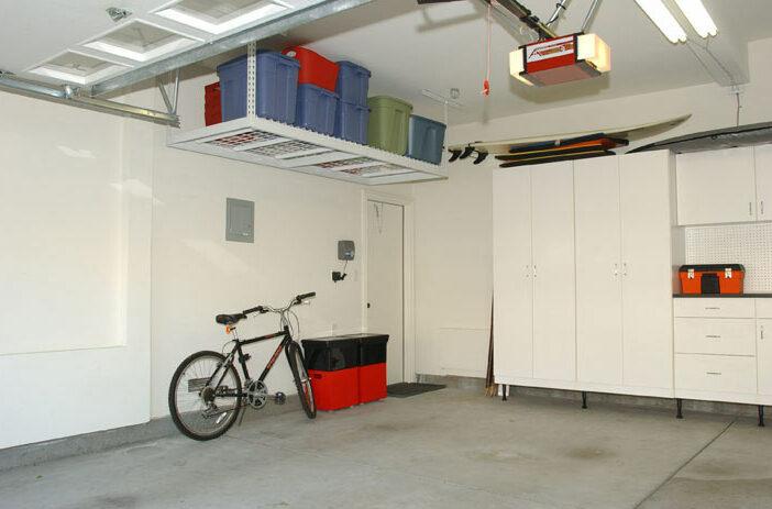 Installing Overhead Garage Storage