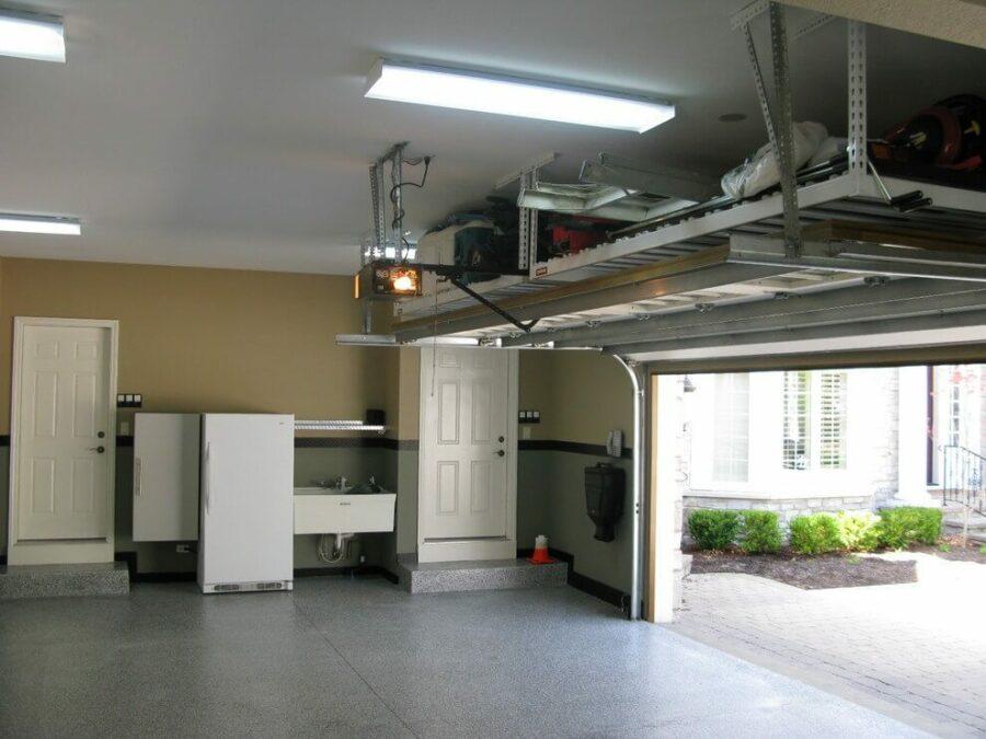 Overhead Garage Storage Solutions