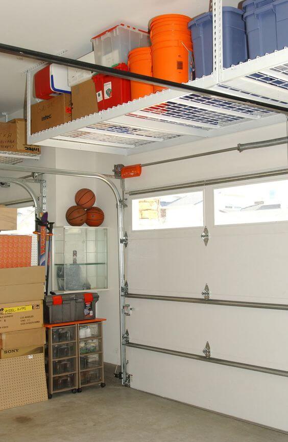Prepare Installing Overhead Garage Storage