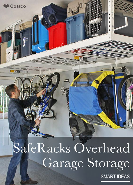 Safe Rack Over Head Garage Storage