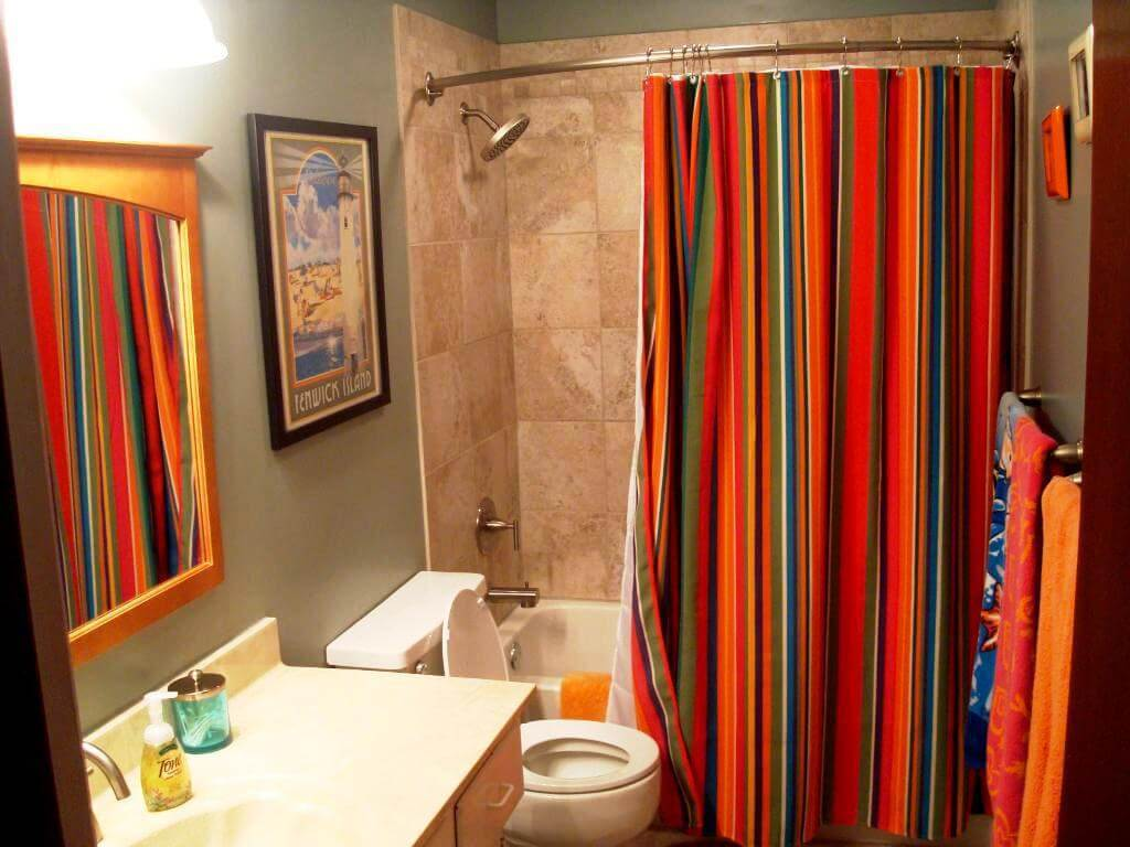 7 Shower Curtain Ideas Make Your Bathroom Look Spacious