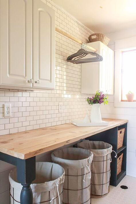 Basement Laundry Room Farmhouse  StyleBasement Laundry Room Farmhouse  Style