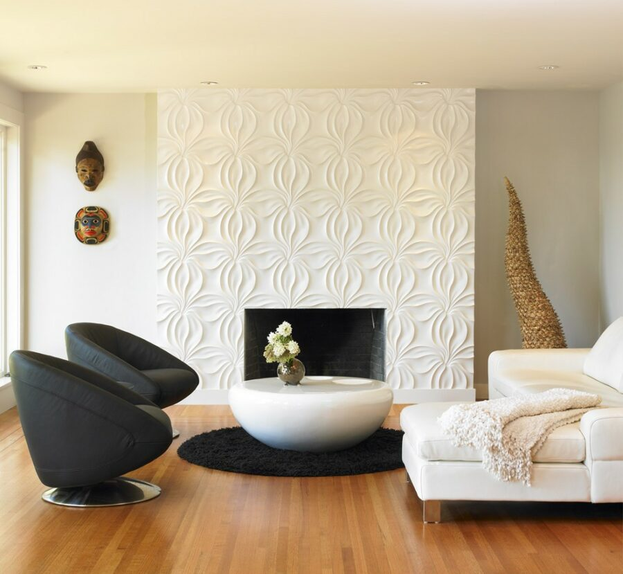 3d accent wall ideas