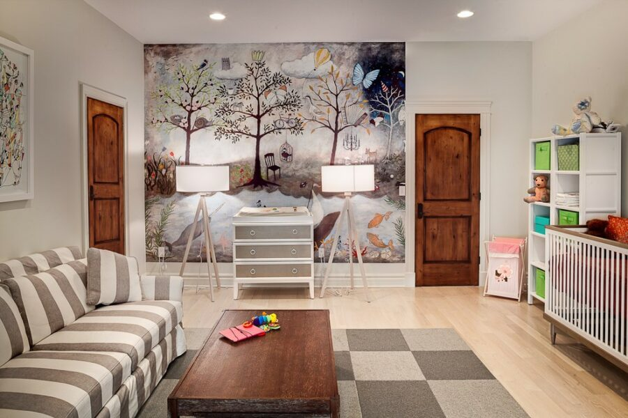 Mural Accent Wall Ideas