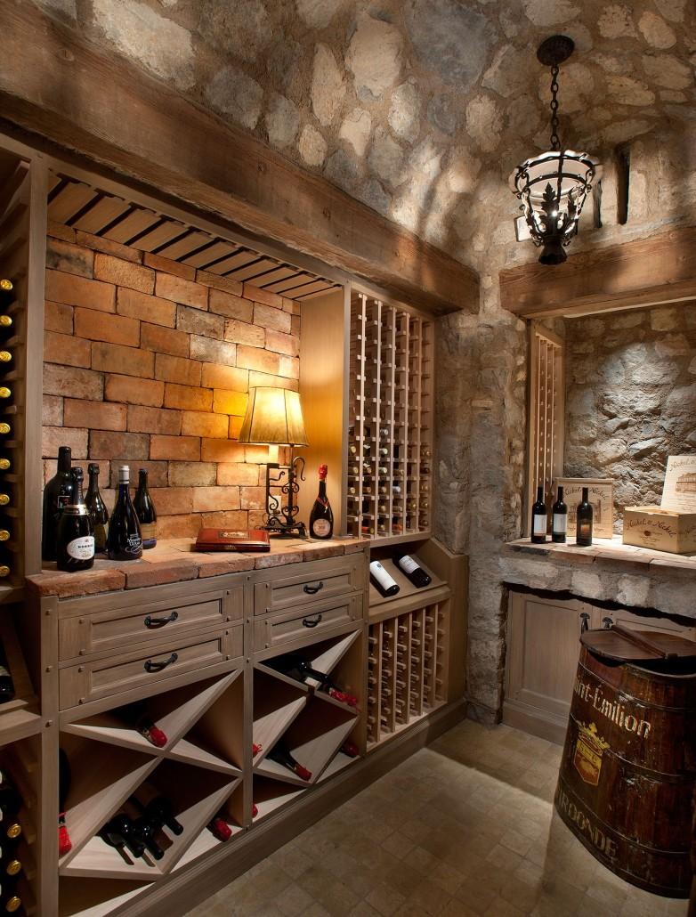 Basement stone ceiling ideas