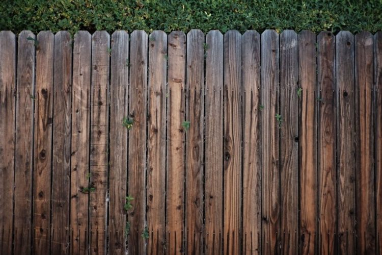 Rustic Wood Fencing