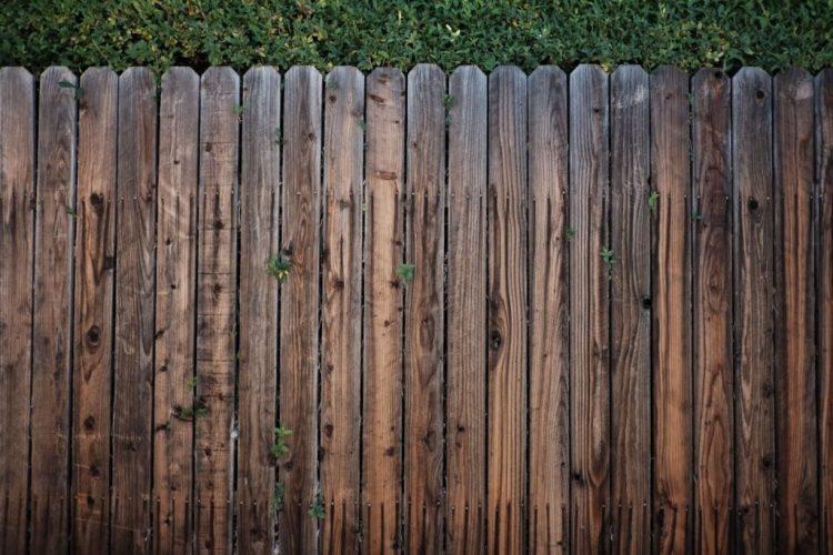 Rustic Wood Fencing