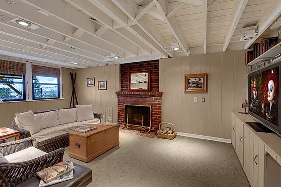 Wood White Ceiling Ideas