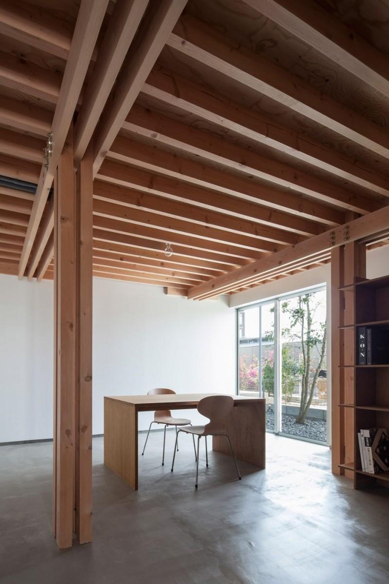 basement_ceiling_ideas_wood