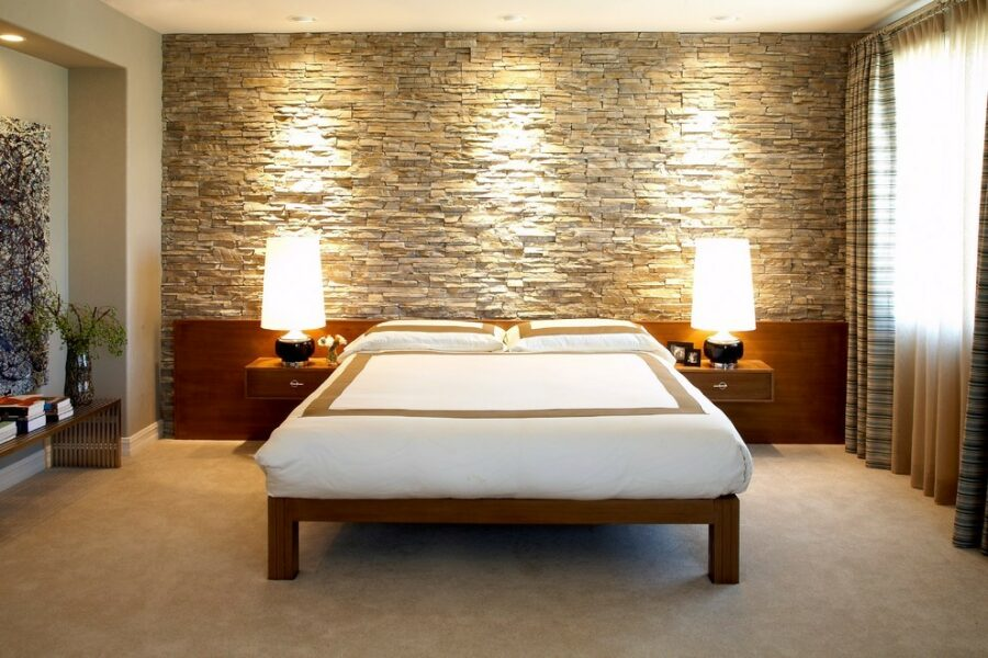 bedroom accent wall design ideas