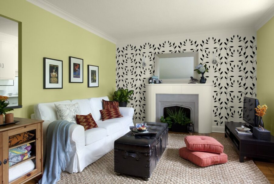 interior accent wall ideas