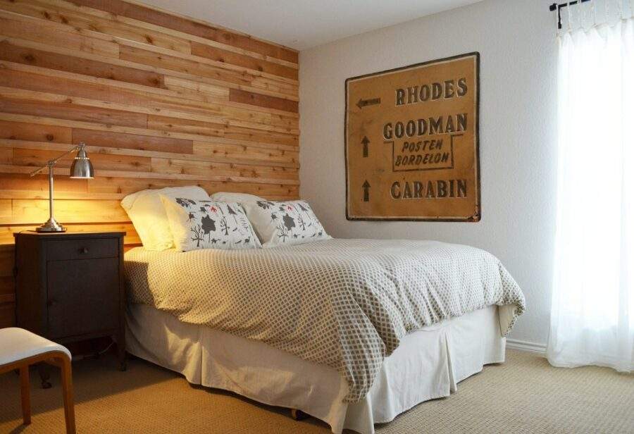 timber feature wall ideas