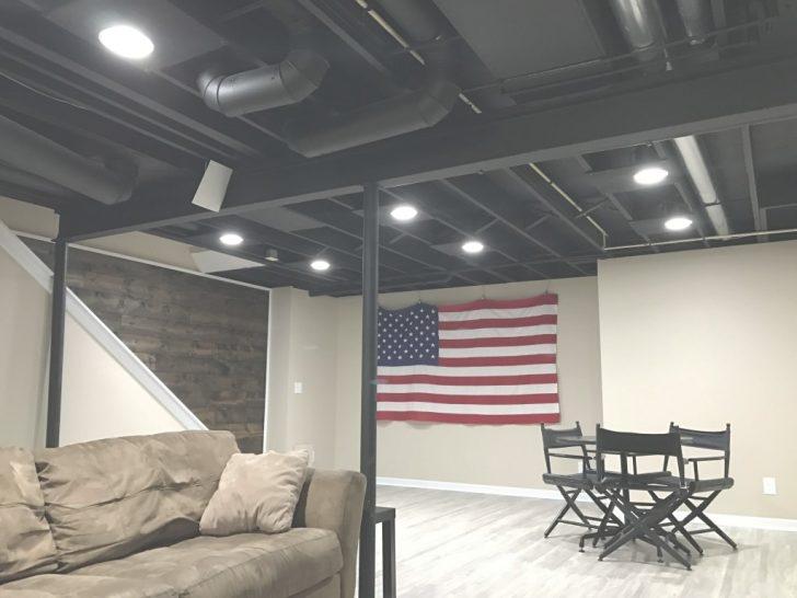 unfinished basement ceiling
