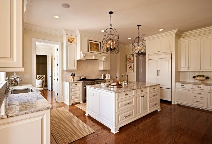 antique_white_paint_for_kitchen_cabinets