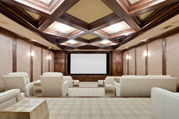 coffered_ceiling_home_theater