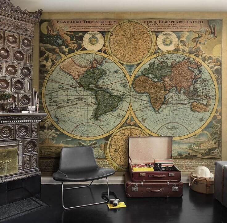 steampunk_bedroom_wallpaper