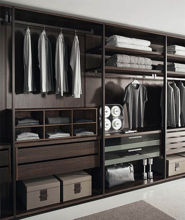 ideas for walk in closet design