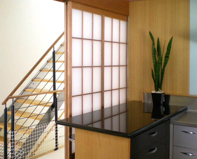 Shoji Screen For Pantry Room