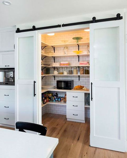 Walk-In Pantries Kitchen