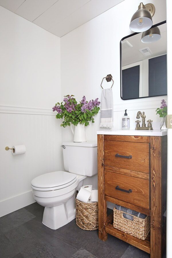 elegant powder room ideas