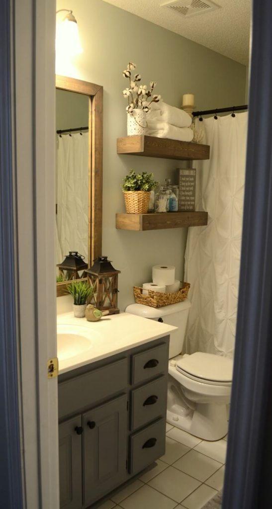 farmhouse_bathroom_curtain_ideas