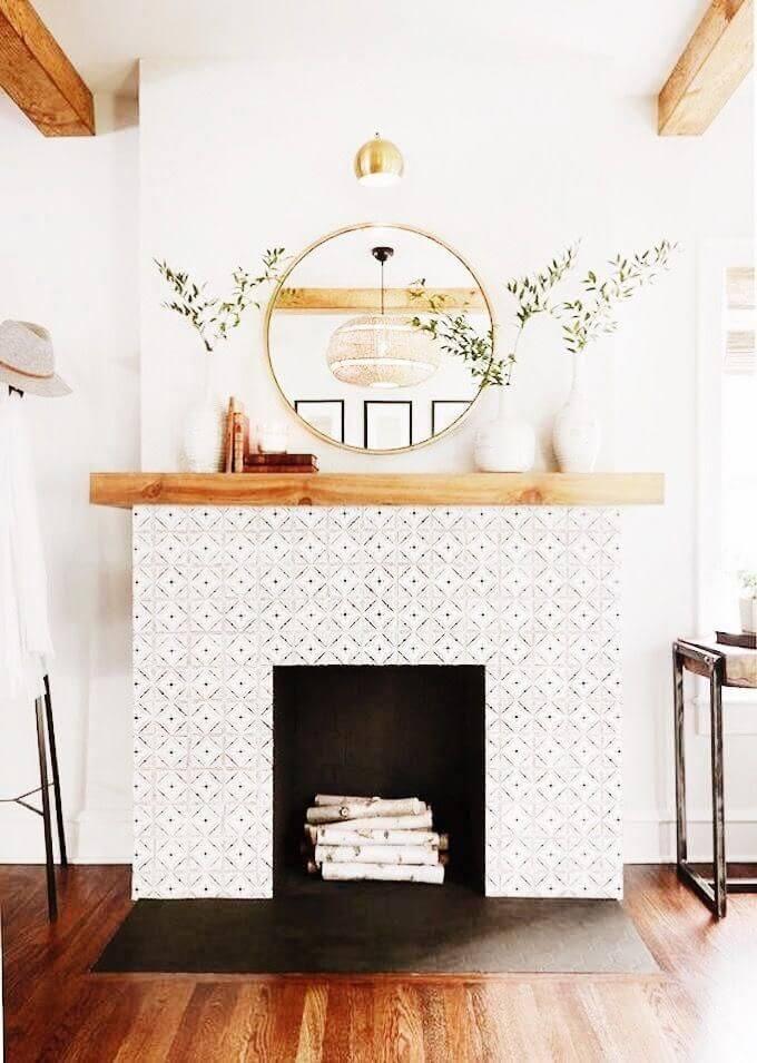 fireplace_mantel_paint_ideas