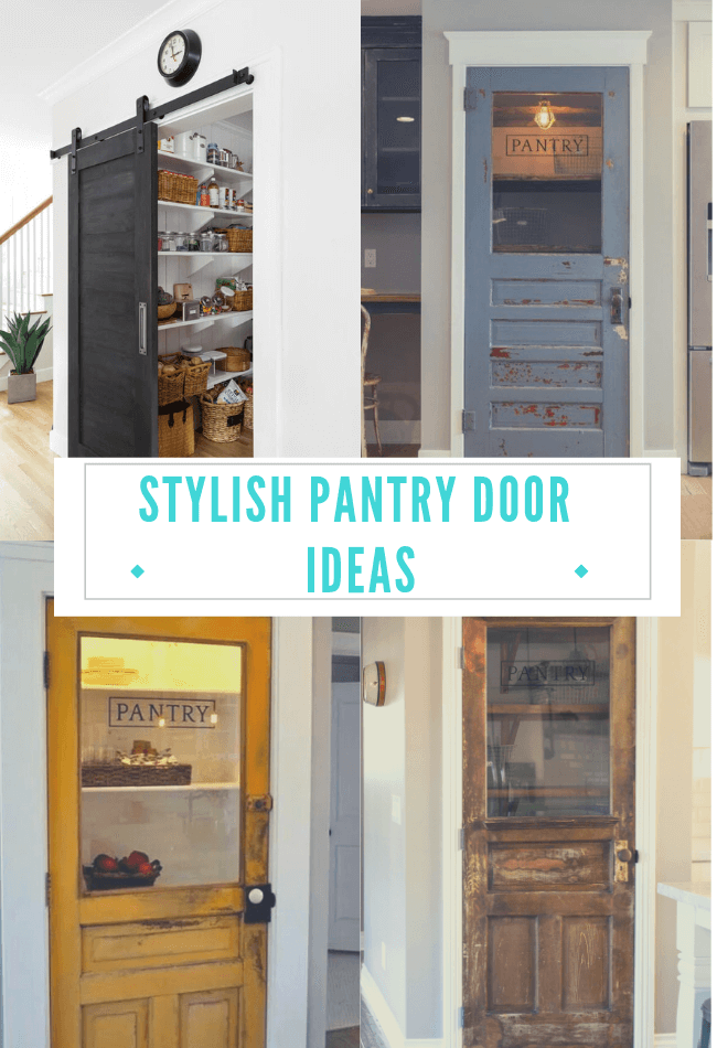 21 Stylish Pantry Door Ideas To Make Your Kitchen Efficient