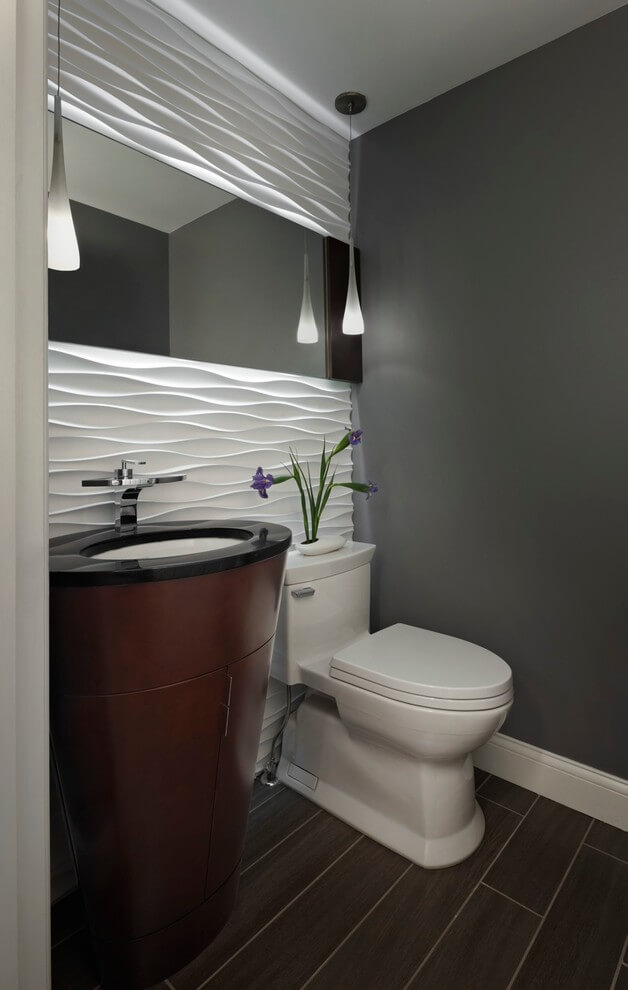 powder room lighting ideas
