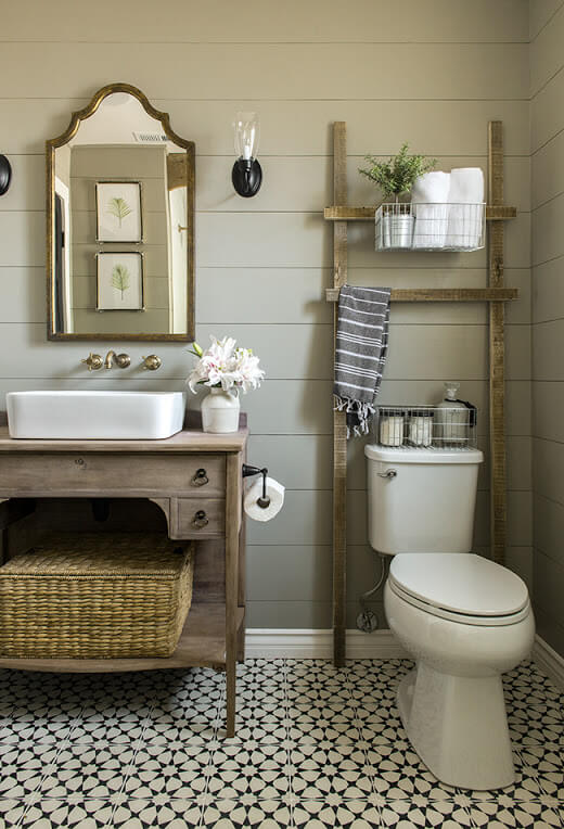 powder room mirror ideas