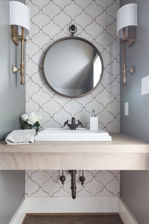 powder room remodel ideas