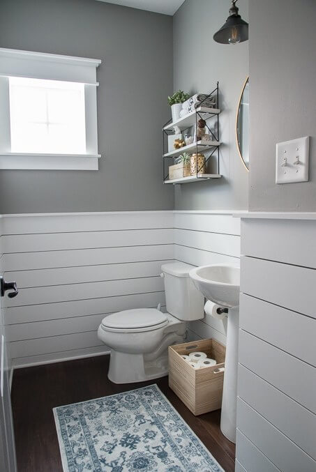 powder room tile ideas