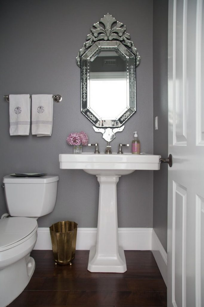 powder room vanity ideas