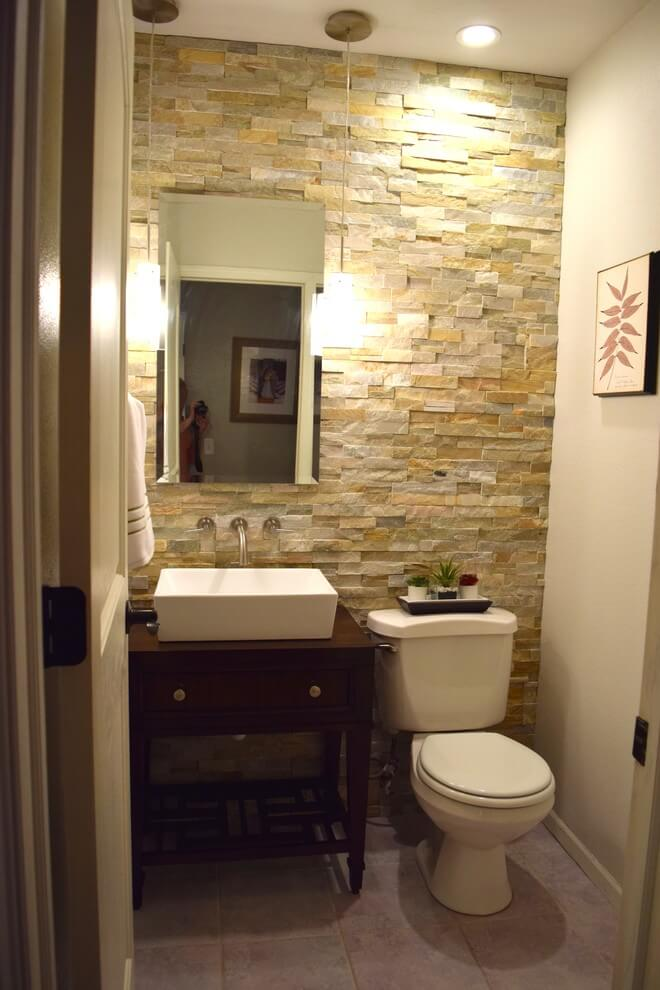 powder room wall ideas