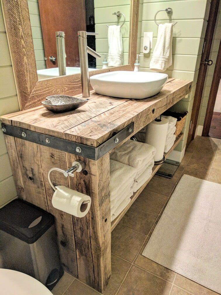 rustic bathroom vanity ideas