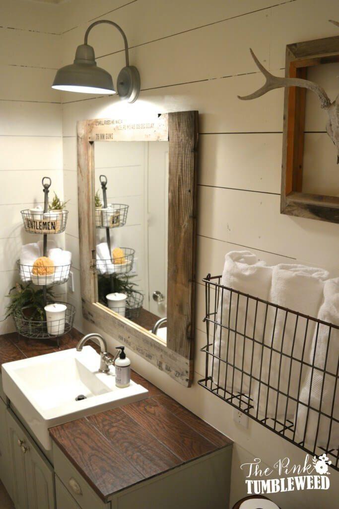 rustic small bathroom vanities