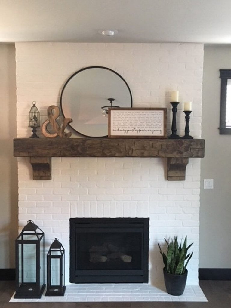 rustic_fireplace_mantel_decor_ideas