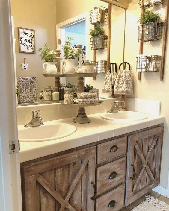 small rustic bathroom ideas