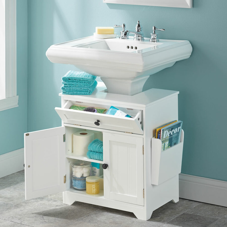 storage_ideas_for_small_bathroom_with_pedestal_sink