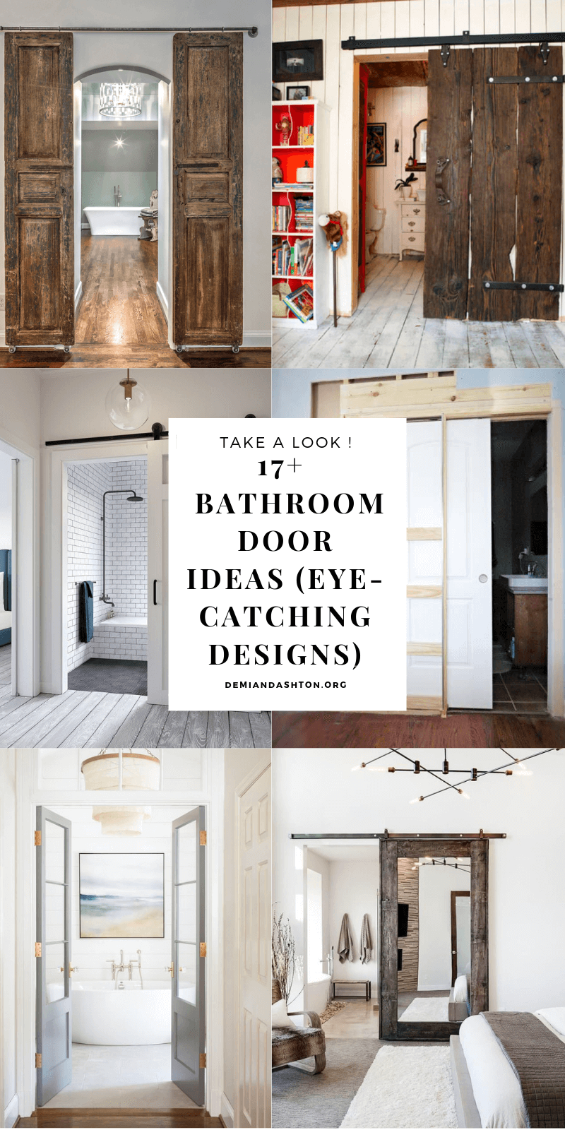 Amazing Bathroom Door Ideas