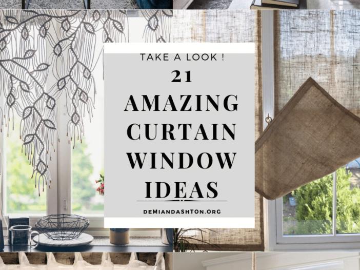 Amazing Curtain Window Ideas
